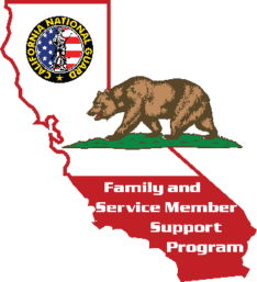 Family and Service Member Support Program Logo