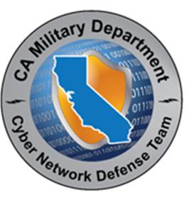 Cyber Network Defense Team Logo
