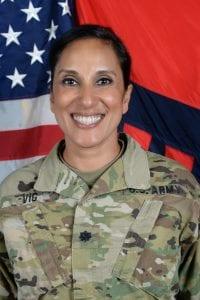 Lieutenant Colonel Manju Vig Garrison Commander of JFTB Los Alamitos